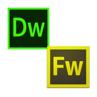 Logo Dreamweaver y Fireworks